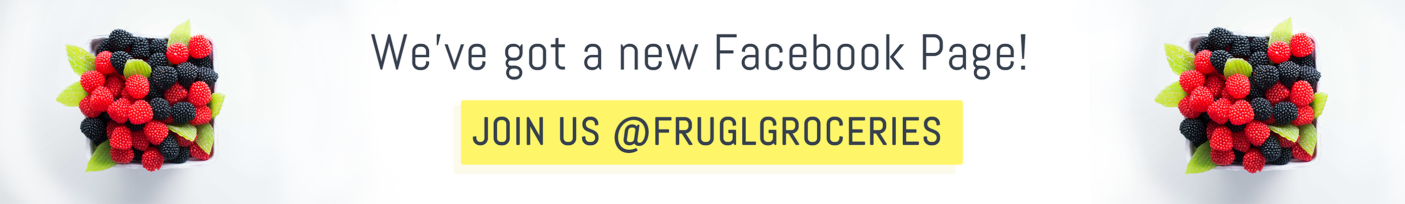 Join us on Facebook at @FruglGroceries