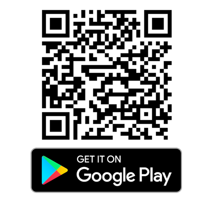 Click/Scan to download Frugl on Android