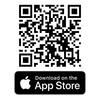 Click/Scan to Download Frugl on iOS